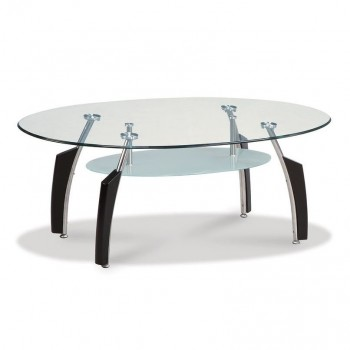 T138BC Coffee Table, Black by Global Furniture USA