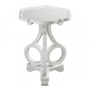 Gloss White Accent Table