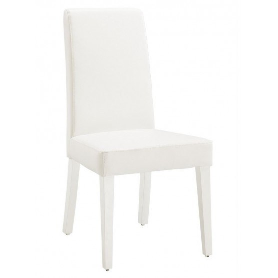 DG020-BR Dining Chair, White photo