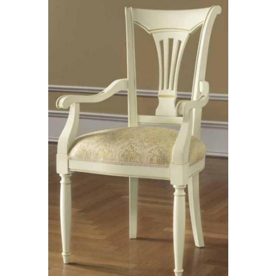 Siena Dining Armchair, Ivory photo