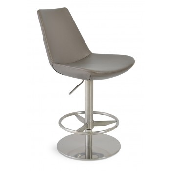 Eiffel Piston Stool, Bronze Grey PPM by SohoConcept Furniture