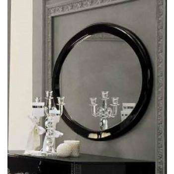 Magic Oval Mirror, Black