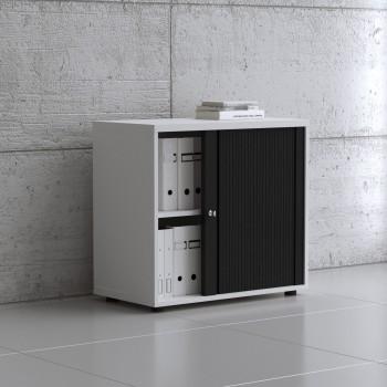 Tambour Pro Storage Unit IA2L04, White + Black Front