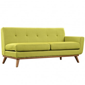 Engage Right-Arm Loveseat, Wheatgrass by Modway