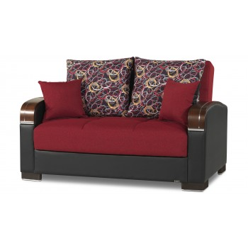 Mobimax Loveseat, Red by Casamode