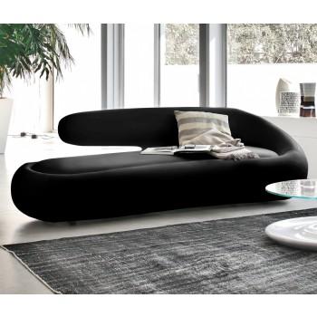 Duny Sofa, Black Leather
