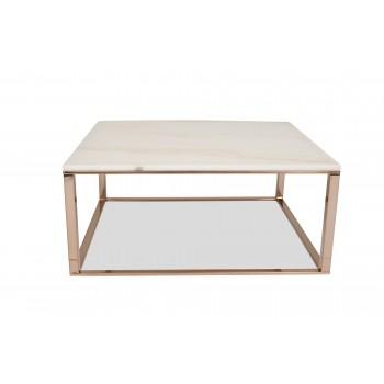 Mila White Marble Coffee Table