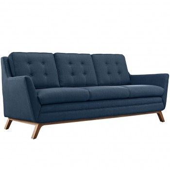 Beguile Fabric Sofa, Azure by Modway