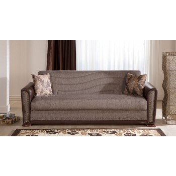 Alfa Sofabed, Redeyef Brown by Sunset International Trade