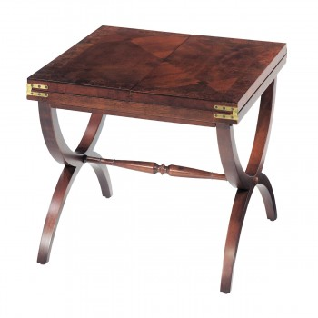 Aderley Cocktail Table With Vintage Mahogany Finish