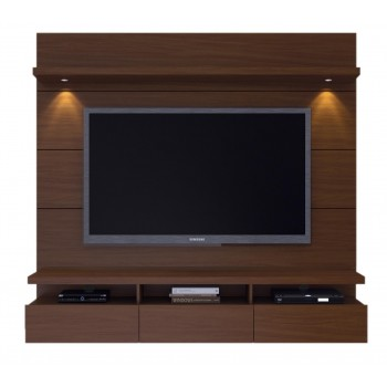 "Cabrini 71.25"" Theater Panel, Nut Brown"