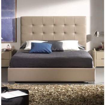 875 Belen Euro Twin Size Bed, Moka