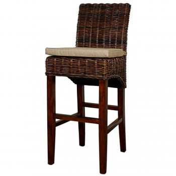 Chance Bar Stool, Brown by NPD (New Pacific Direct)