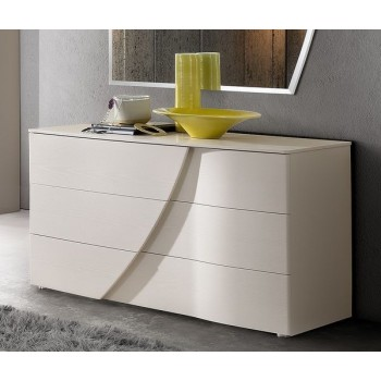 Luna Single Dresser, White Ash