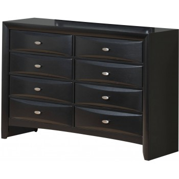 Linda Dresser, Black by Global Furniture USA