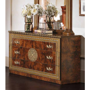 Alexandra Single Dresser, Walnut
