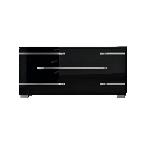 Volare Double Dresser, Black photo