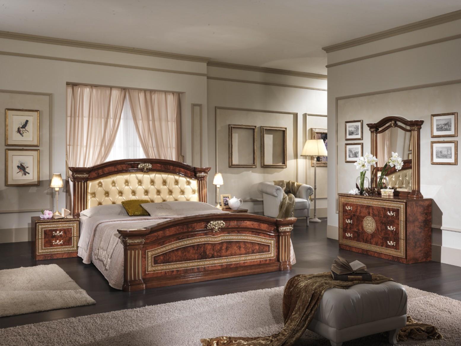 Alexandra Queen Size Bedroom Set W Upholstered Headboard Buy