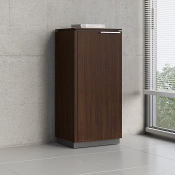 Status 1 Left Door Storage Cabinet X36, Chestnut