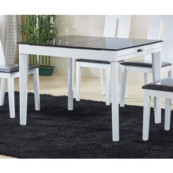 Gianni 6016 Dining Table, White