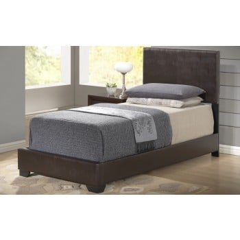 8103 Twin Size Bed, Brown