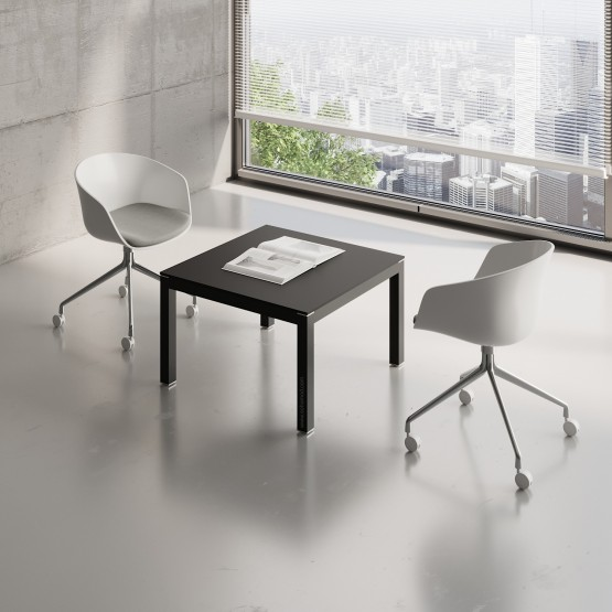 Impuls Small Table IM57, All Black photo