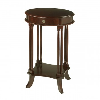 Bellingham Side Table With Mahogany Stain Finish