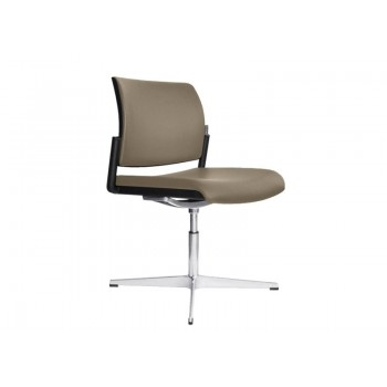Aura Visitor Chair, 4-star Base