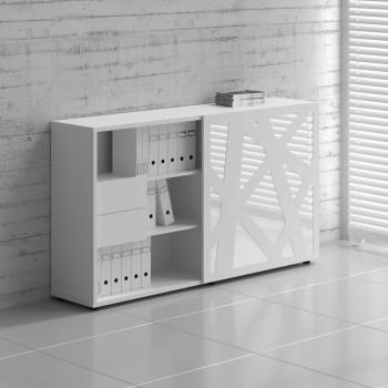 Managerial Storage ZS01, White Zig Zag Front