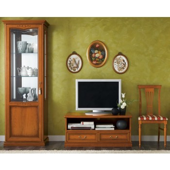 Nostalgia Entertainment Set, Composition 2, Walnut