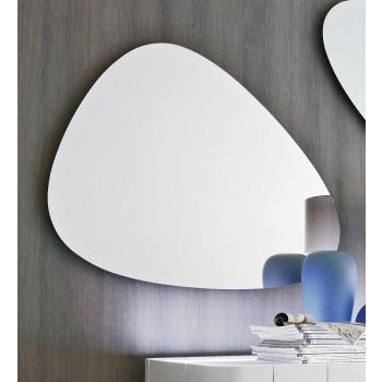 Stone Medium Silver Mirror