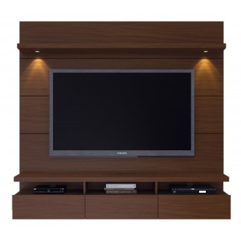 "Cabrini 85.43"" Theater Panel, Nut Brown"