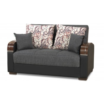 Mobimax Loveseat, Gray by Casamode