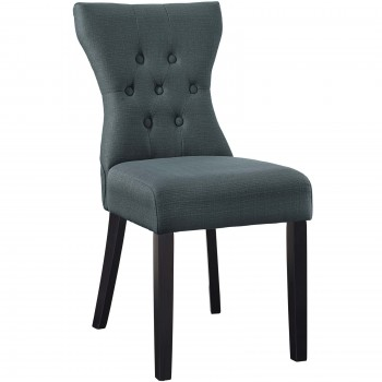 Silhouette Dining Side Chair, Gray by Modway