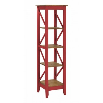 Jay Bookcase 2.0, Red Wash