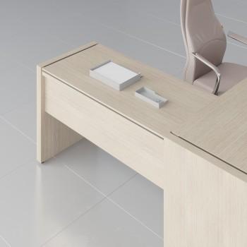 Status Right Side Desk Extension X15, Canadian Oak