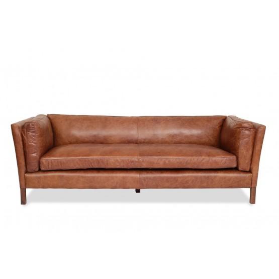 Finley Leather Sofa photo