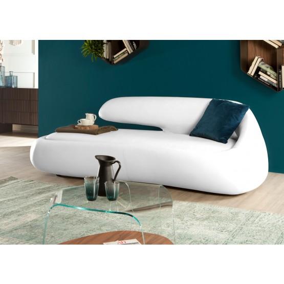 Duny Sofa, White Eco-Leather photo