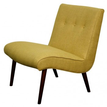 Alexis Fabric Chair, Pistachio by NPD (New Pacific Direct)