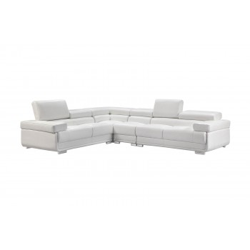 2119 Sectional, White