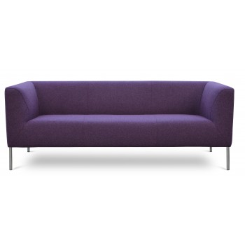 Laguna Sofa, Deep Maroon Camira Wool by SohoConcept Furniture