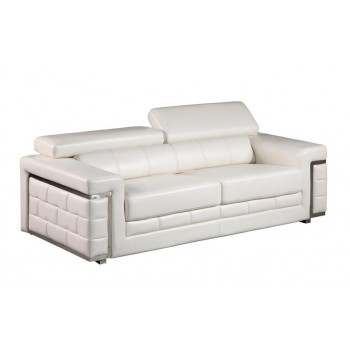 U7940 Sofa, White by Global Furniture USA