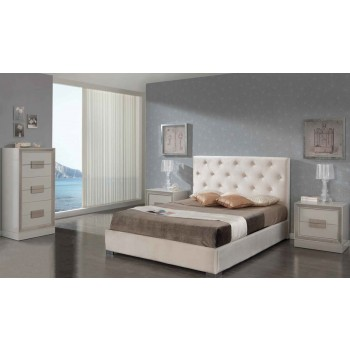 626 Ana 3-Piece Euro Queen Size Storage Bedroom Set, Composition 2
