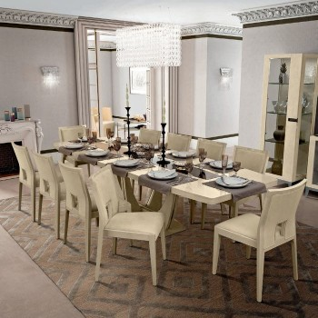 Ambra Dining Room Set w/Maxi Dining Table