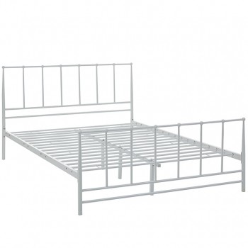 Estate Full Bed, White by Modway