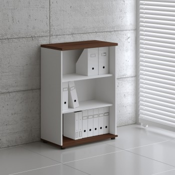 Basic K3504 Open Storage, White + Lowland Nut