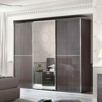 Platinum 3 Sliding Door Wardrobe w/Mirror