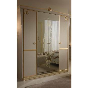 Gocce Di Luce 4-Door Wardrobe