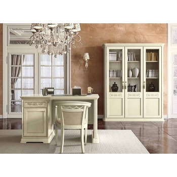 Torriani 2-Piece Office Set, Composition 2, Ivory
