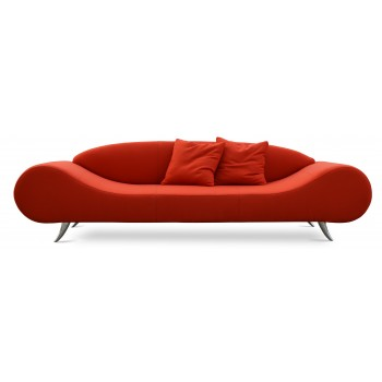 Harmony Sofa, Orange Camira Wool by SohoConcept Furniture